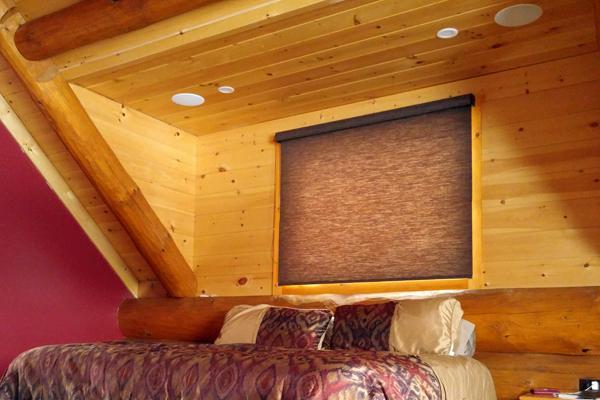 Master Bedroom in-ceiling speakers